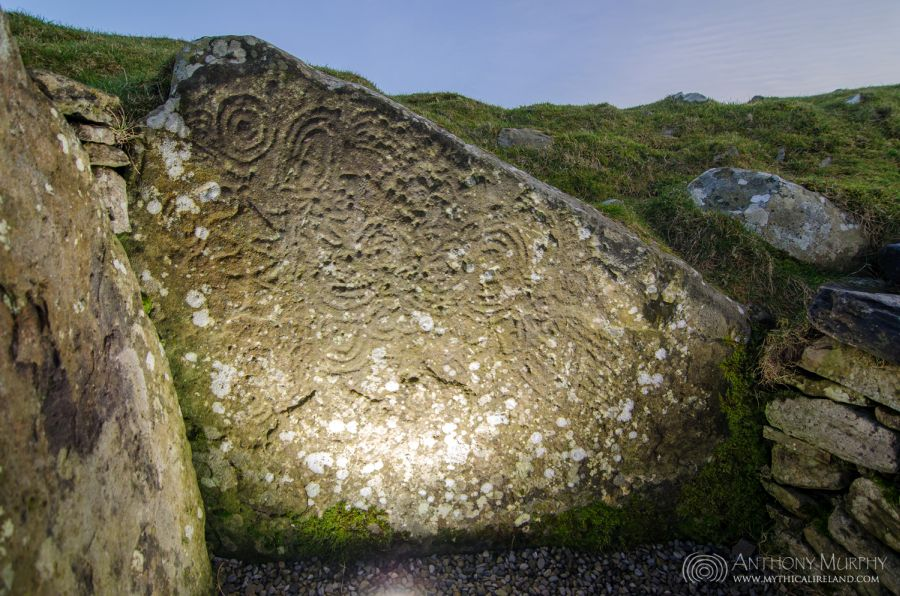 Cairn U Megalithic Art at Loughcrew