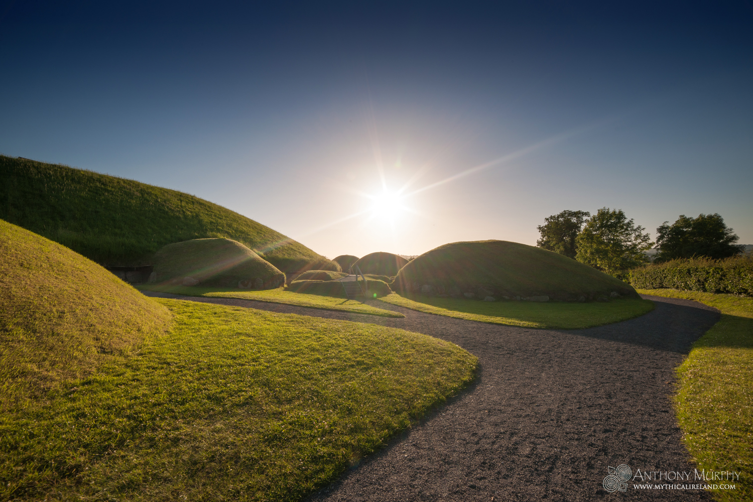 Midsummer Sunset at Knowth
