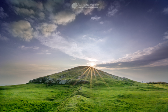 Sunset at Cairn T Loughcrew