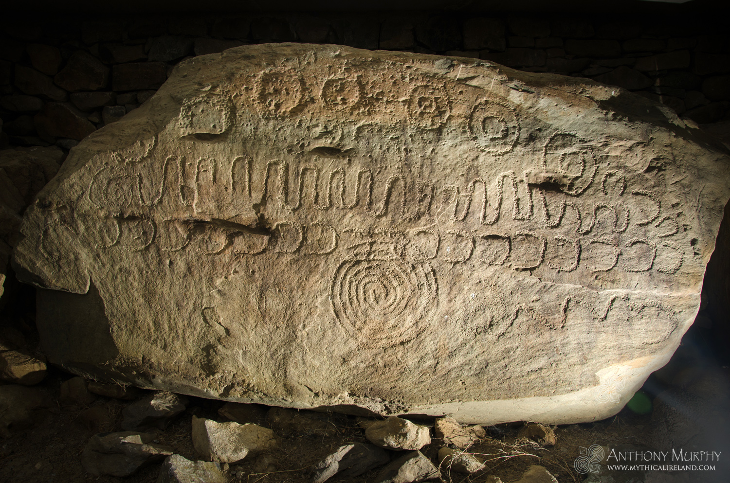 The Calendar Stone at Knowth