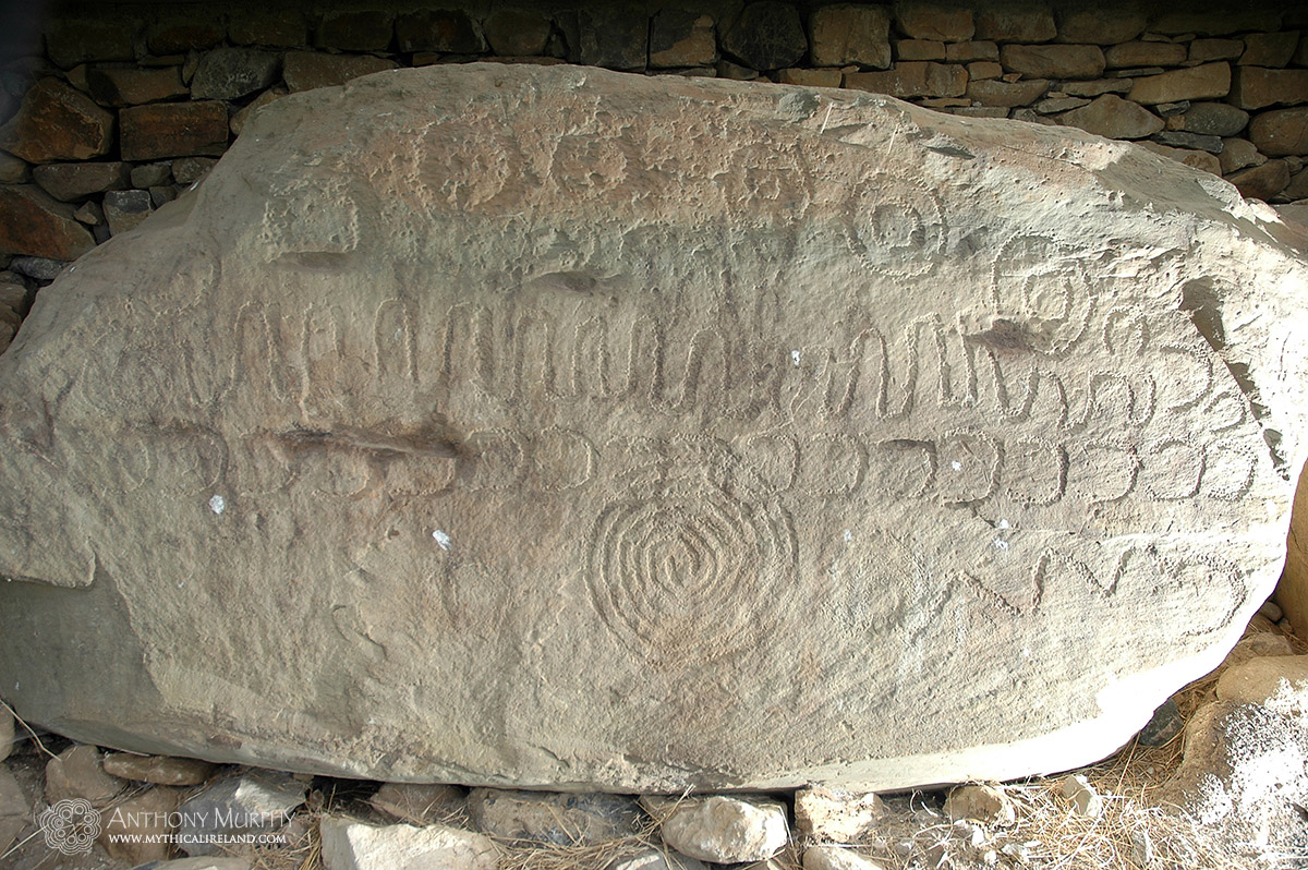 The Calendar Stone at Knowth (kerb 52)