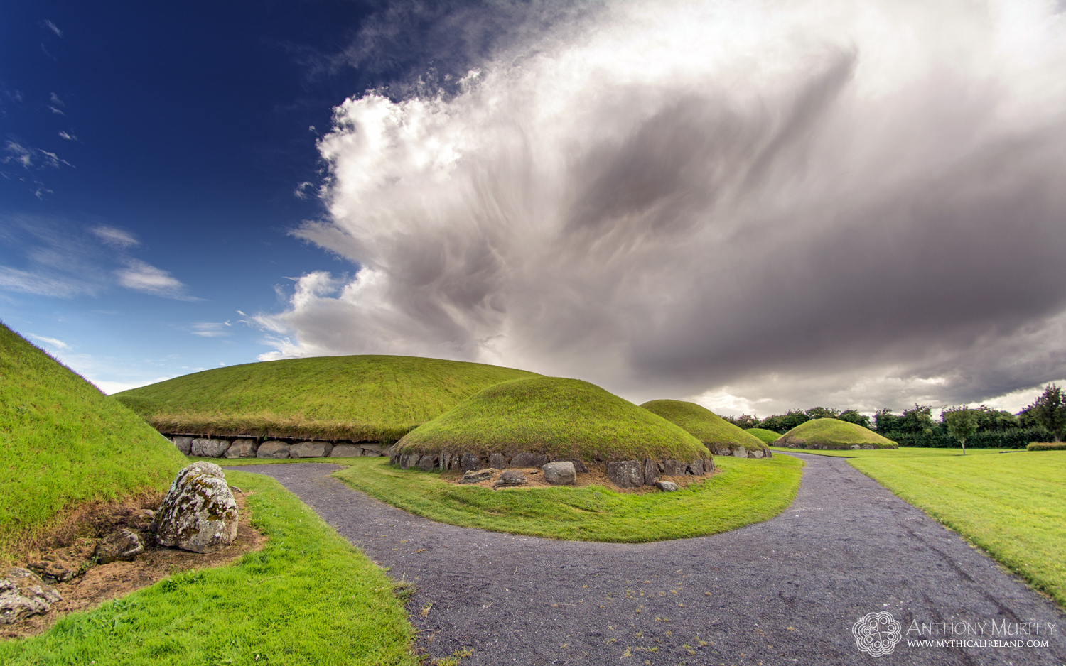 Stormy Sky at Knowth