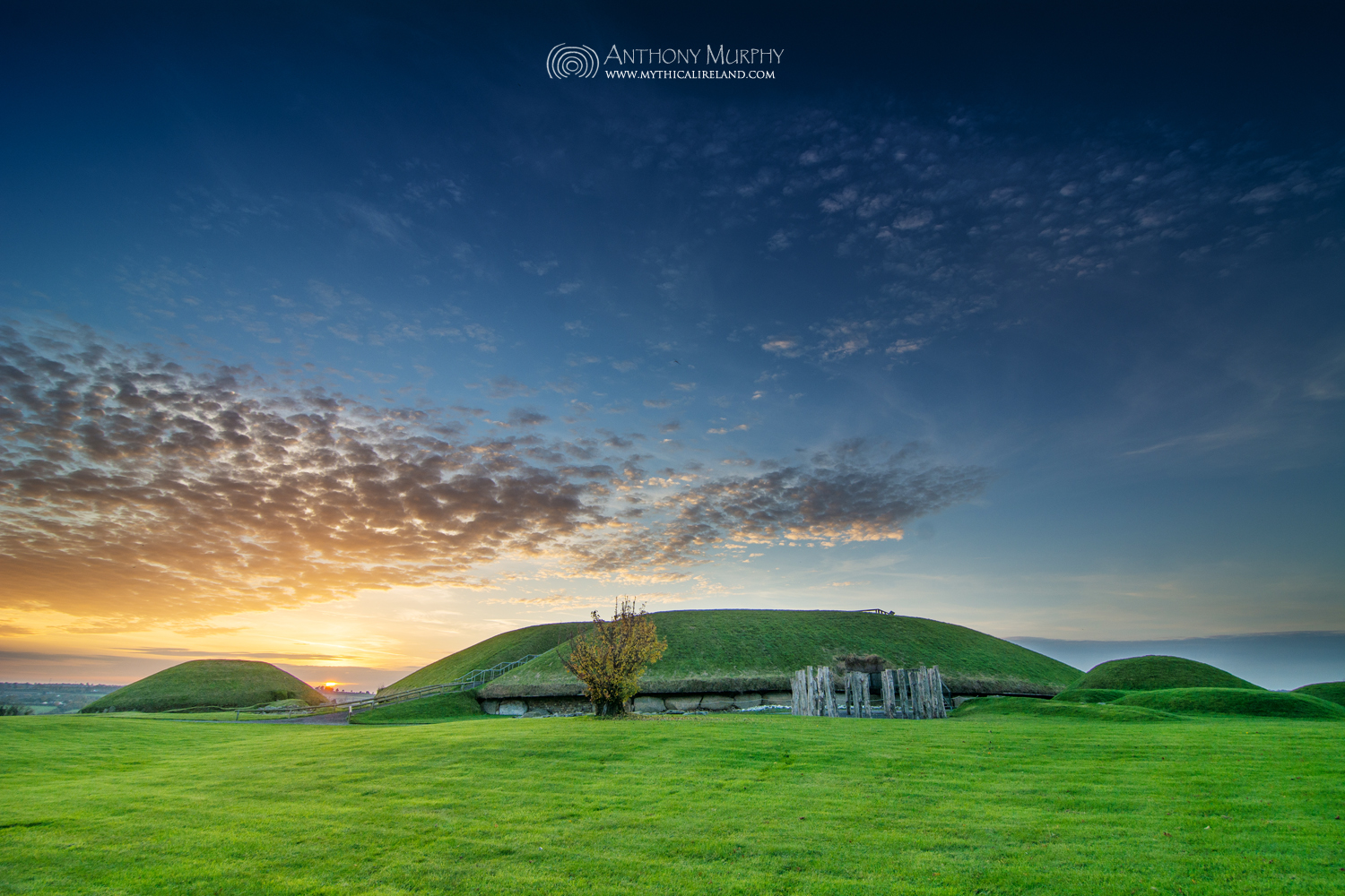 Knowth Samhain Sunset