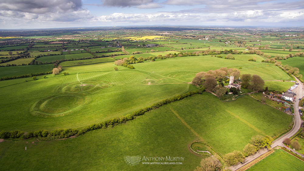 The Hill of Tara from the air