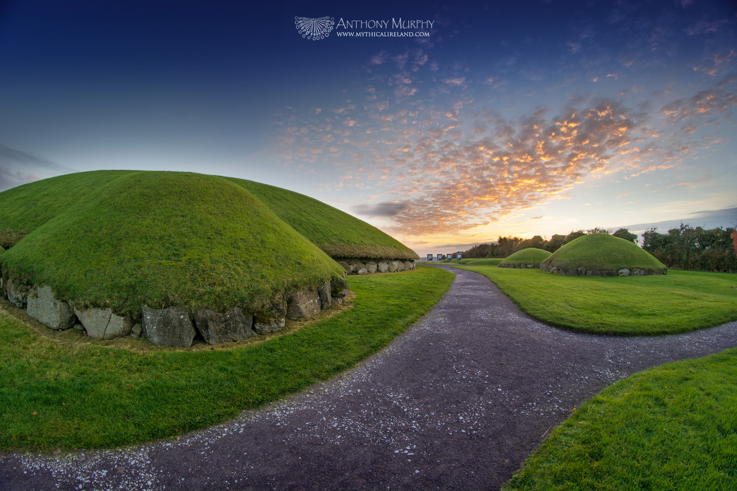 Red Sky at Knowth