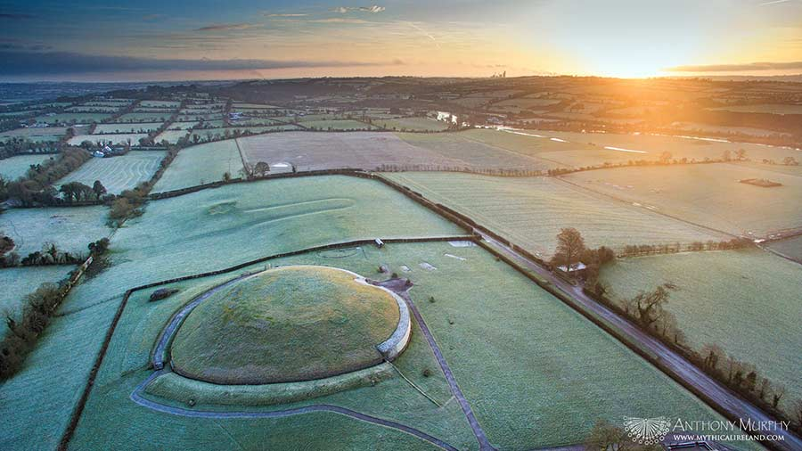 Newgrange from the air