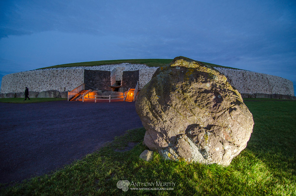 Newgrange Great Circle stone