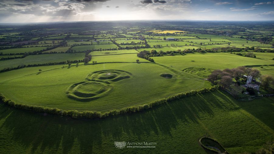 Map Of Ireland On Your Face.Mythical Ireland Ancient Sites The Hill Of Tara Teamhair